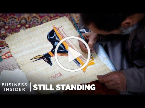 Meet Some Of The Last Papyrus Makers In Egypt Keeping A 5,000-Year-Old Craft Alive   Still Standing
