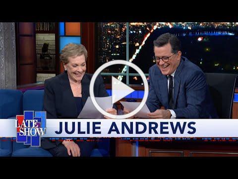 Julie Andrews Reads Stephen Colbert A Bedtime Story