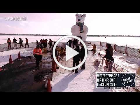 Duluth Polar Plunge 2020