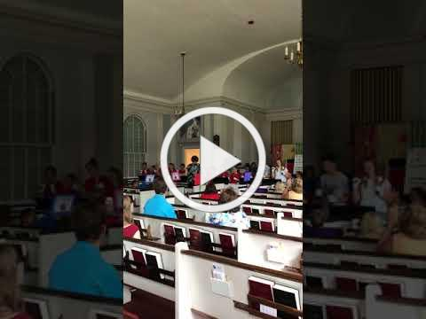 VBS 2018 Bell Ringers Performance