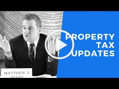 2019 Property Tax Updates Change in Ownership Issues, Hot Topics and Assessment Procedures and Rules
