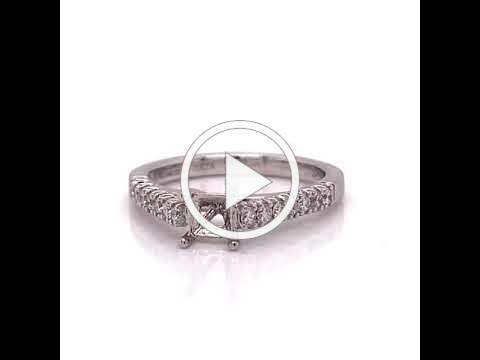 MDJ Advantage - Carrizza Diamond Semi Mount- 4009428