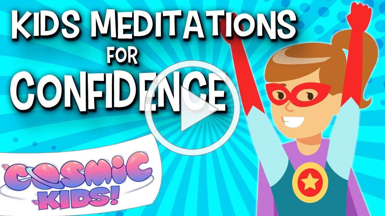 Kids Meditations for Confidence 💪😎