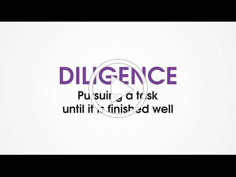 (B9) Diligence - Character Trades. Family game night activity to help kids build good character.