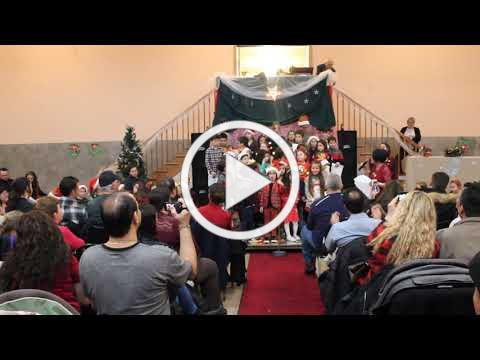 Christmas Village Italian Language Program Presentation, December 1, 2019 2