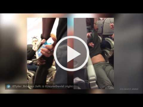 United Airlines Passenger Forcibly Removed on Overbooked Flight