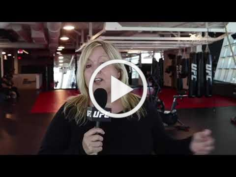 UFC MEDIA INTERVIEW of Coach Carolyn Wester on UFC 229