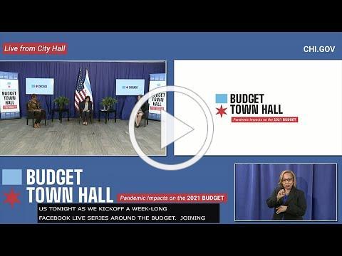 Budget Week Virtual Town Hall 8.31.2020