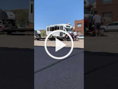 Watch as Christ Lutheran Church Natick's Donated Minibus Lands in El Paso