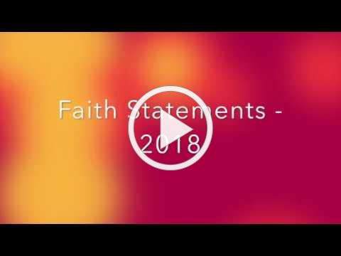 Faith Statements 2018