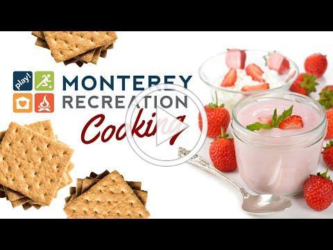Monterey Recreation Presents: That's Good! Strawberry Frozen Yogurt Treats