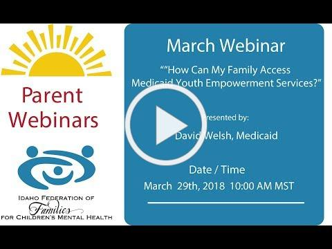 """How Can My Family Access Medicaid Youth Empowerment Services?"""