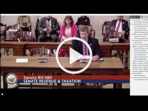 Johnny Key Senate Testimony
