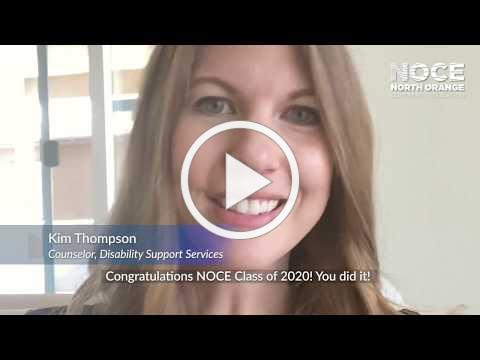 NOCE Class of 2020 Congratulations Video