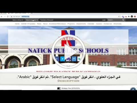 How to Read the NPS News in Arabic