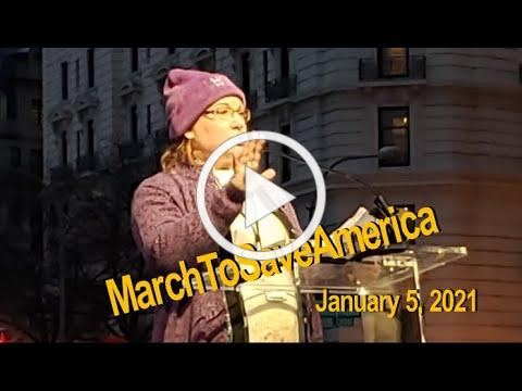 Kimberly Fletcher Speaks at DC Stop the Steal Rally Freedom Plaza