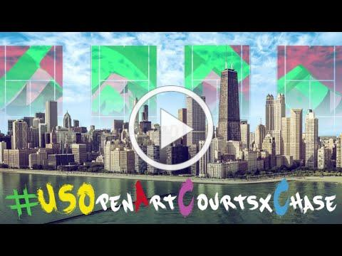 US Open Art Courts x Chase: Riverdale Park, Chicago Intro