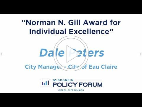 2020 Norman N. Gill Award for Individual Excellence