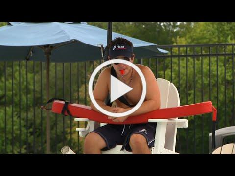 What do lifeguards do at Plano's pools?