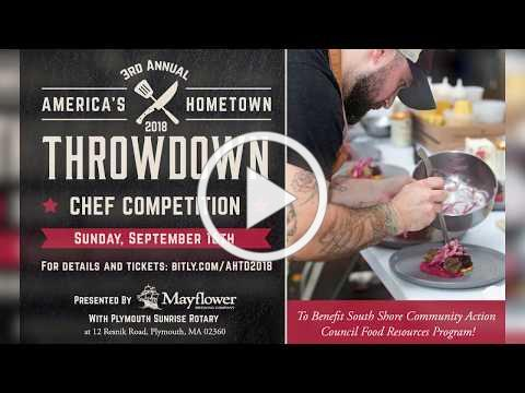 Third Annual Americas Hometown Throwdown Chef Competition 2018 PSA