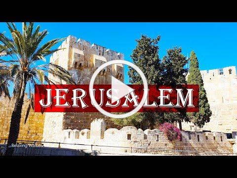 Walking in Jerusalem, Israel - Old City