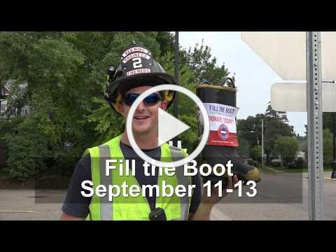 Fill the Boot with the Fire Dept!