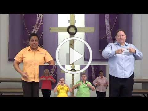 Because He Lives SunCoast MCC ASL Choir Easter 2021