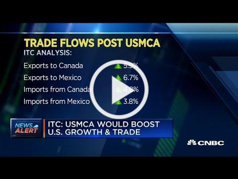 ITC: USMCA trade deal would boost US growth
