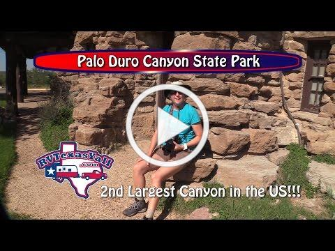 Texas RV Adventure: Palo Duro Canyon State Park, Canyon TX
