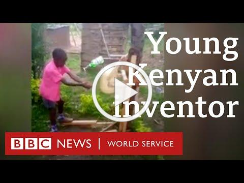 Coronavirus solutions: The Kenyan boy who invented a safer way to wash hands - BBC World Service