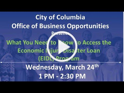What You Need to Know to Access the Economic Injury Disaster Loan (EIDL) Program