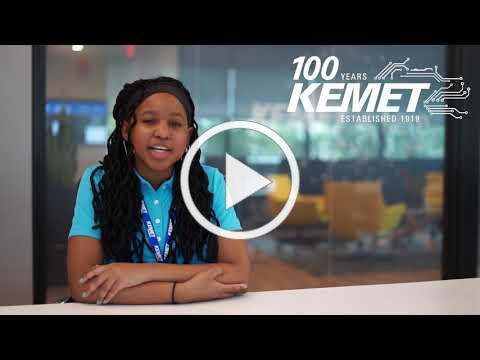 Summer Employment Testimonial - Amari at KEMET