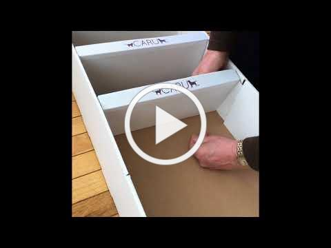 Caru Pet Food Floor Displayer - Instructional How To Video