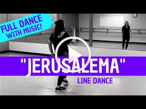 """JERUSALEMA"" DANCE | Master KG (BEGINNER LINE DANCE ROUTINE) Easy choreography!"