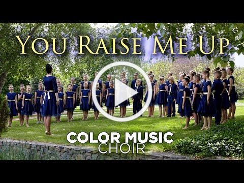 """""""You Raise Me Up"""" - cover by COLOR MUSIC Children's Choir"""