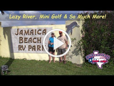 RV Park Tour: Jamaica Beach RV Park in Galveston, Texas   RV Texas