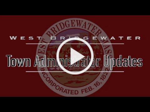 Town Admin Update: Corona Virus Update