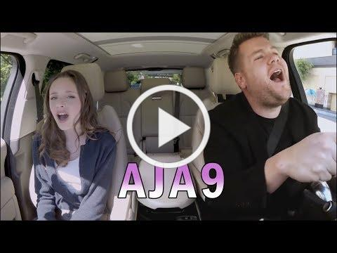 Carpool Karaoke with James Corden & Aja9