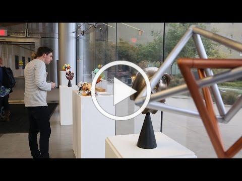 Vision+Light art science exhibit