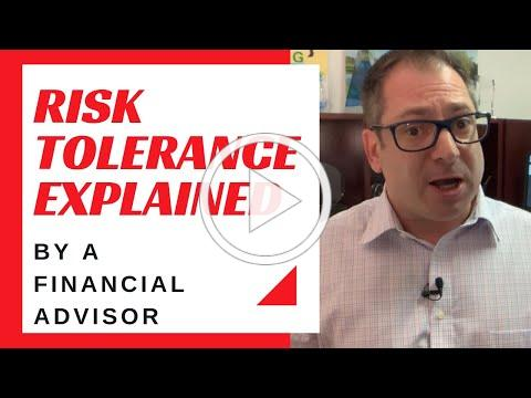 Risk Tolerance Explained - by a financial advisor