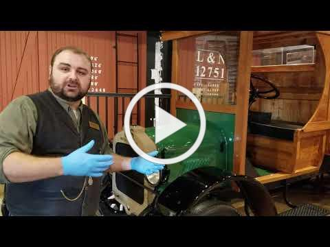 """""""Curator's Chat"""" with Jason French: A Look at BCM's 1924 Stewart Iron Works' U.S. Motor Truck"""