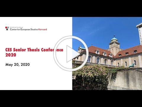 Senior Thesis Conference 2020