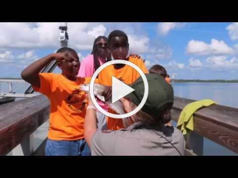 Babe James Community Summer Camp visits Canaveral National Seashore