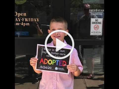 Dylan Adoption Day