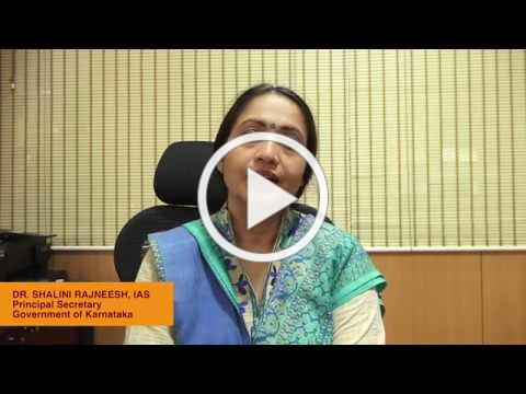 Annapoorna Breakfast Programme - Ms.Shalini Rajneesh - Principal Secretary of Education