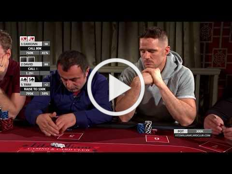 The 2017 Partypoker Fitzwilliam Poker Championship - €100,000 Prize Pool!