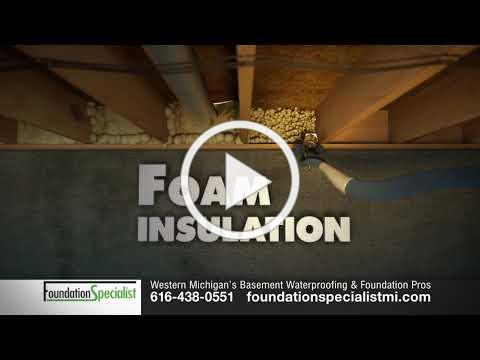 Foam Insulation for Basements and Crawl Spaces