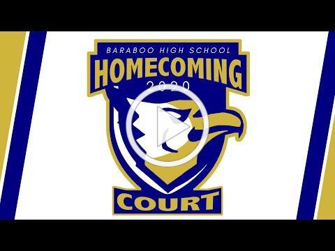 Baraboo High School 2020 HoCo Court