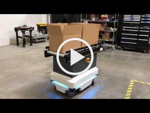 MiR Robot Conveyor Top