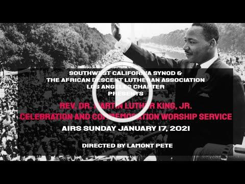 Movie Trailer For 41st Annual MLK Celebration and Worship Service- Airs Jan 17, 2021